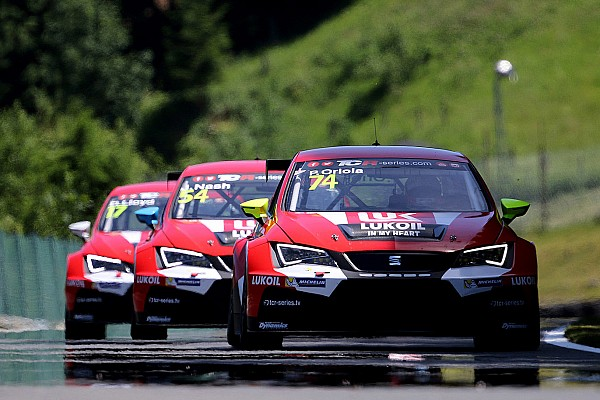 TCR Craft-Bamboo Racing top five in difficult weekend at the Salzburgring