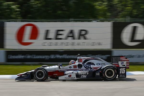IndyCar Наживо: трансляція кваліфікації перед другою гонкою IndyCar у Детройті