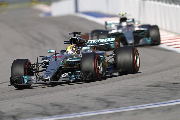 Formel 1 News Mercedes gibt zu: Ferrari macht in Sochi 2017 die bessere F1-Figur