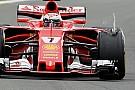 Formula 1 Pirelli: la gomma di Kimi lesionata da un contatto con un corpo esterno