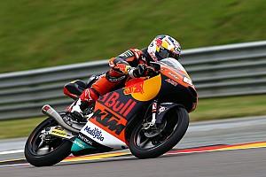 Moto3 Verslag vrije training Bendsneyder tweede in openingstraining voor Duitse Grand Prix