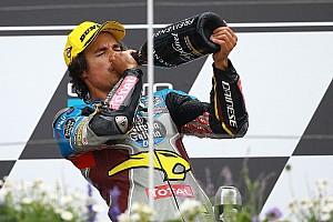 Moto2 Reporte de la carrera Morbidelli se impone y aprovecha las caídas de Luthi y Márquez