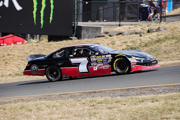 NASCAR Will Rodgers lost to Harvick at Sonoma, but had the time of his life