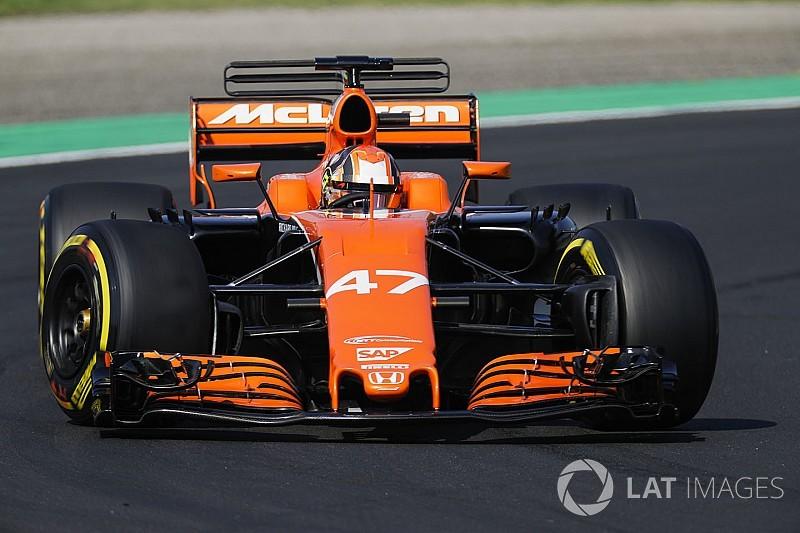 """McLaren, testin ardından """"geleceğin yıldızı"""" Norris'i övdü"""