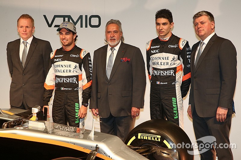 Force India aspira a entrar en el top 3