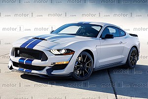 Automotive Breaking news 2019 Ford Mustang Shelby GT500 looks aggressive in new rendering