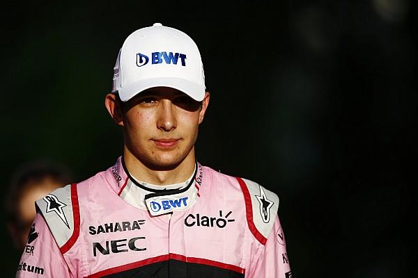 Ocon: com ajustes, Force India pode incomodar Red Bull