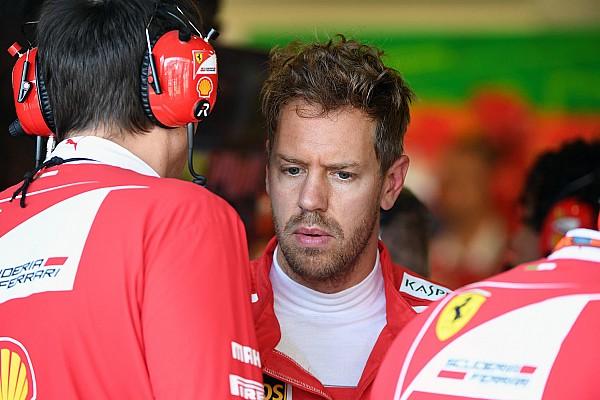 """Fórmula 1 Últimas notícias Vettel critica Hamilton por toque: """"Nos colocou em risco"""""""