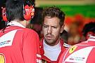Vettel: Bakü'de Ferrari'yi yüz üstü bıraktığımı hissettim