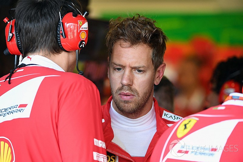 Vettel: I felt I let Ferrari down in Hamilton Baku clash