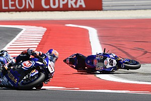 WSBK Réactions Yamaha a de nouveau perdu une occasion de marquer de gros points