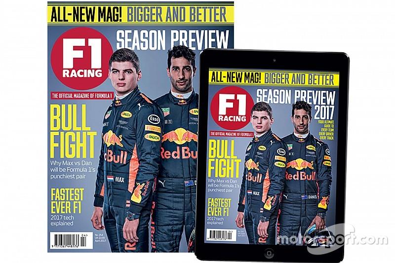 New-look F1 Racing magazine now on sale