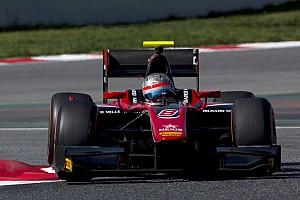 FIA F2 Test raporu F2 Barcelona testi: İkinci günün lideri Albon