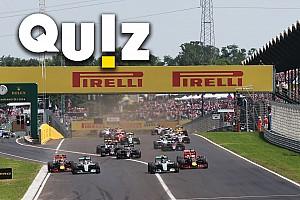 Formule 1 Contenu spécial Quiz - Connaissez-vous bien le GP de Hongrie?