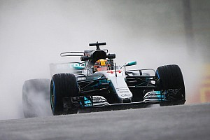 Formula 1 Practice report Japanese GP: Hamilton tops second practice washout
