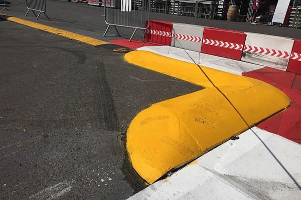 Formel 1 News Formel 1 in Monaco: Neuer Randstein