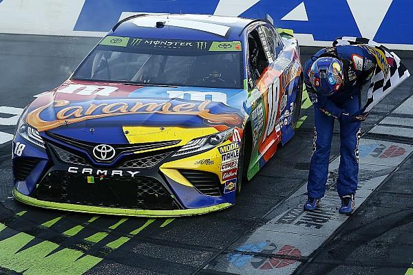NASCAR in Loudon: Kyle Busch gewinnt turbulentes 2. Playoff-Rennen