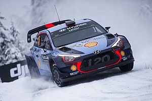 WRC Leg report Sweden WRC: Neuville increases lead, Meeke crashes