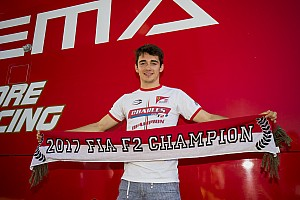 FIA F2 Special feature Leclerc column: How lap count mishap nearly delayed F2 title