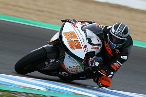 Moto2 Testverslag Moto2-test Jerez: Tijd van Lowes houdt stand op verregende testdag