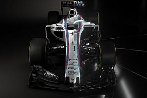 La comparación visual del Williams de 2017 y el de 2018