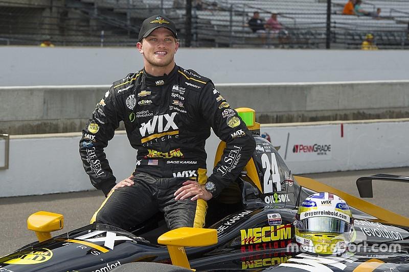 Karam returns to Dreyer & Reinbold for sixth Indy 500 bid