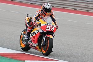 MotoGP Practice report Austin MotoGP: Marquez leads Vinales in warm-up