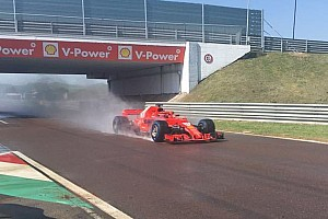 Reifentests: Giovinazzi und Kwjat erstmals im neuen Ferrari