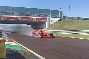 Formula 1 Ultime notizie F1 test Pirelli: ecco Kvyat al debutto sulla Ferrari SF71H a Fiorano