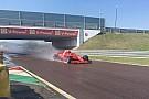Квят проїхав 118 кіл за кермом машини Ferrari в п'ятницю