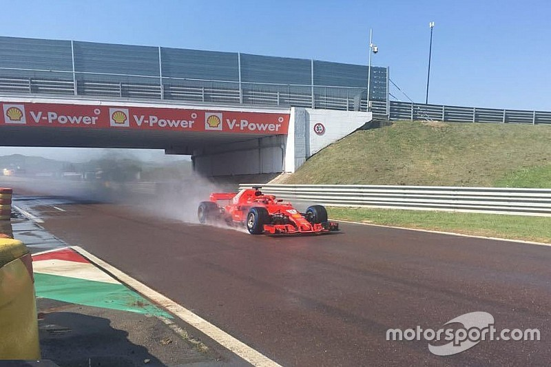 Közel 120 kört tesztelt Kvyat a 2018-as Ferrarival pénteken