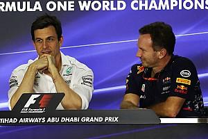Formel 1 News Motorenstreit 2018: Red-Bull-Teamchef stichelt gegen Mercedes