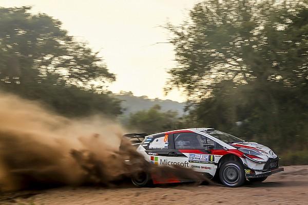 WRC Arjantin: Tanak 42 saniye farkla lider!