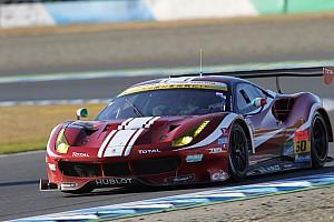 スーパーGT 速報ニュース 新田守男「フェラーリはコーナリングは速いが、加速感が乏しかった」