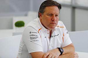 Formel 1 News Zak Brown: Eigener McLaren-Motor