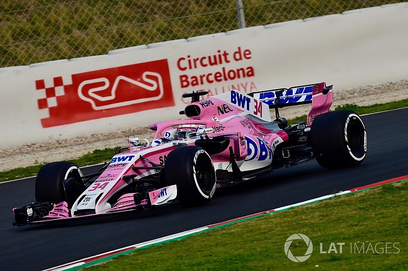 Force India to field three juniors in Barcelona F1 test