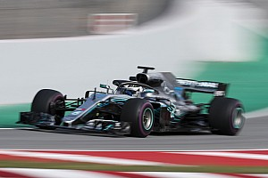 Formula 1 Testing report Bottas leads Giovinazzi on second morning of F1 test