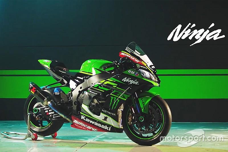 Kawasaki zeigt die Ninja für die WSBK-Saison 2018