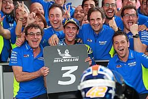 MotoGP Actualités Rins n'aurait pas rejoint Suzuki s'il n'avait pas envisagé le titre