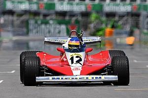 Formule 1 Diaporama Photos - Jacques Villeneuve au volant de la Ferrari de Gilles