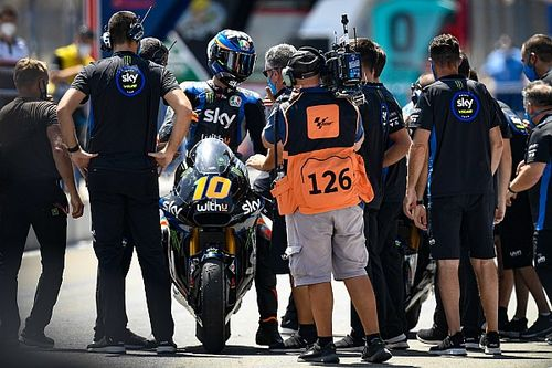 "Doppio podio con il ""botto"" per lo Sky Racing Team VR46"