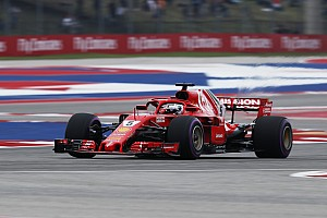 US GP: Vettel leads Ferrari 1-2 in final practice