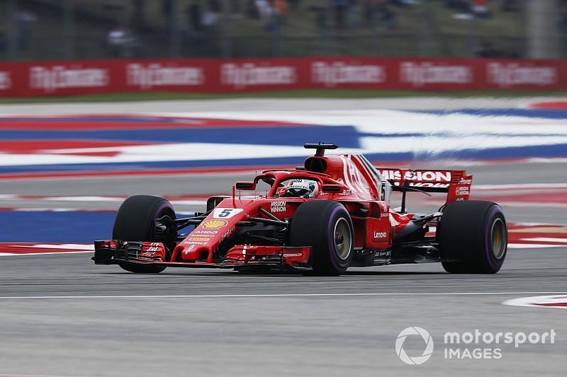 Amerika GP 3. antrenman: Vettel, Raikkonen'in 0.046 saniye önünde lider