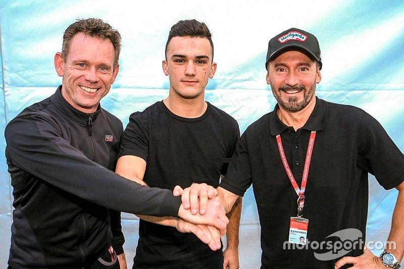 L'équipe de Biaggi arrive en Moto3 avec Arón Canet