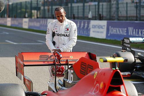«Где Ferrari? Понятия не имею». Хэмилтон и Ферстаппен удивились провалу Скудерии