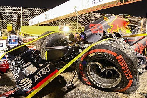 Hamilton lideró una FP2 de Bahrein con dos banderas rojas