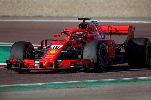 Ferrari realiza un test aerodinámico en Imola con Leclerc en el SF71H