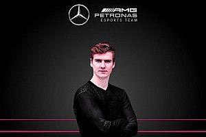 Mercedes haalt regerend F1 Esports-kampioen Opmeer binnen