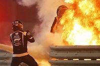 Grosjean accidenté : le pilote de la voiture médicale témoigne