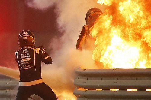 F1: Conheça os 'anjos da guarda' que 'salvaram' Grosjean de acidente no Bahrein
